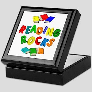 READING ROCKS Keepsake Box