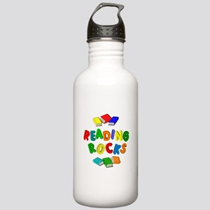 READING ROCKS Stainless Water Bottle 1.0L