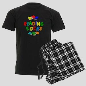 READING ROCKS Men's Dark Pajamas