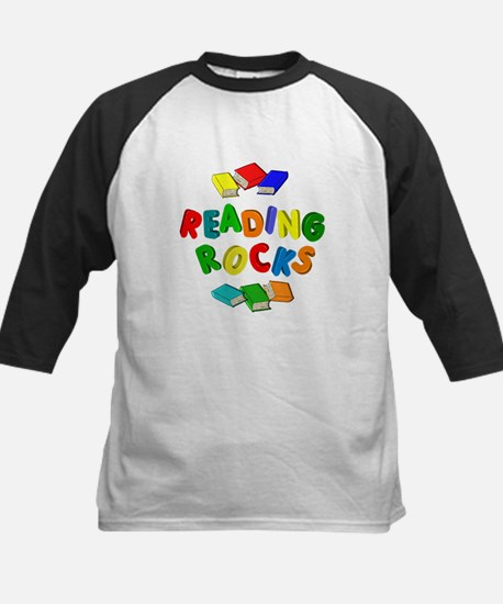 READING ROCKS Kids Baseball Jersey