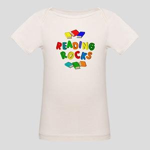 READING ROCKS Organic Baby T-Shirt