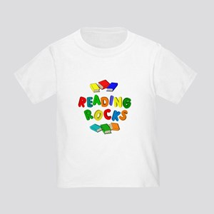 READING ROCKS Toddler T-Shirt