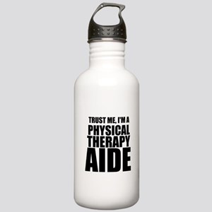 Trust Me, Im A Physical Therapy Aide Water Bottle