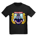 USS DIXON Kids Dark T-Shirt