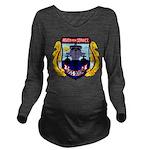 USS DIXON Long Sleeve Maternity T-Shirt