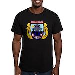 USS DIXON Men's Fitted T-Shirt (dark)