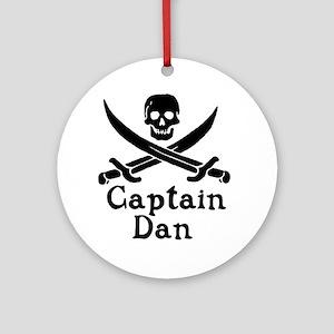 Captain Dan Ornament (Round)