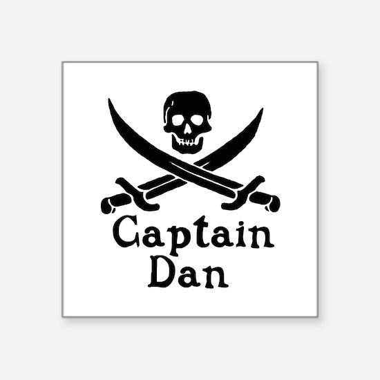 Captain Dan Sticker