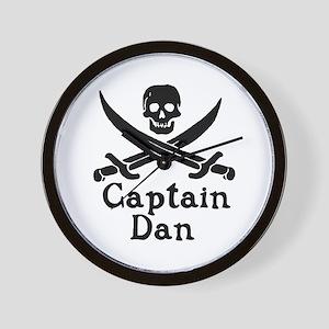 Captain Dan Wall Clock