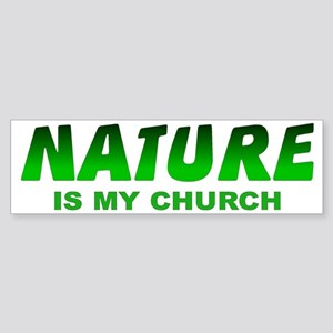 NATURE Bumper Sticker