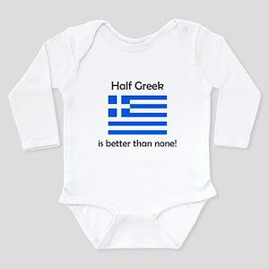 Half Greek Body Suit