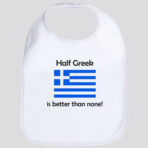 Half Greek Bib
