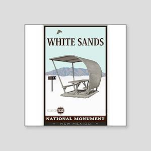 White Sands 4 Sticker