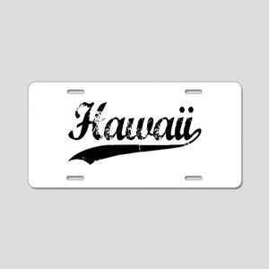 Hawaii Aluminum License Plate