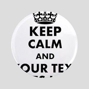 "keep calm gifts 3.5"" Button"