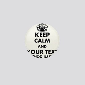 keep calm gifts Mini Button