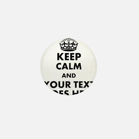 keep calm gifts Mini Button