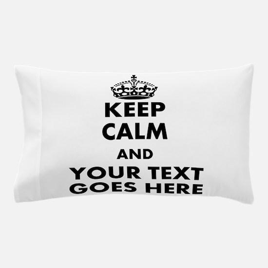 keep calm gifts Pillow Case