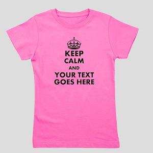 keep calm gifts Girl's Tee