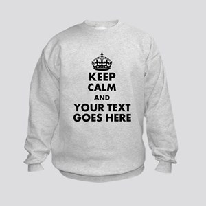 keep calm gifts Sweatshirt