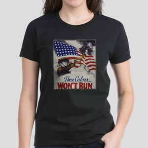These Colors Wont Run American Flag T-Shirt