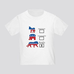 Not Democrat Not Republican We are awake. T-Shirt