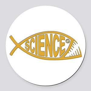 Science Round Car Magnet