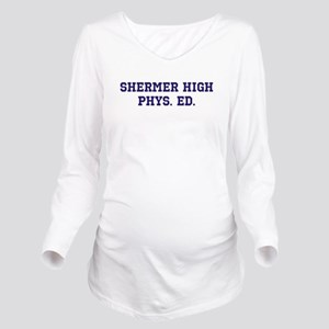 Shermer High Phys. E Long Sleeve Maternity T-Shirt