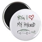 Hybrid Car Magnet