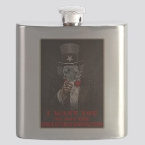 Zombie Outbreak Response Team - Recruit Flask