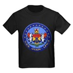 USS GUAM Kids Dark T-Shirt