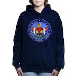 USS GUAM Women's Hooded Sweatshirt