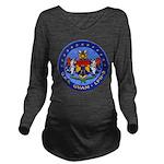 USS GUAM Long Sleeve Maternity T-Shirt