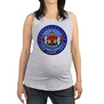 USS GUAM Maternity Tank Top