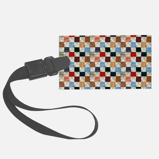 Colorful quilt pattern Luggage Tag
