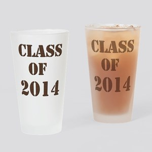 Class of 2014 Drinking Glass
