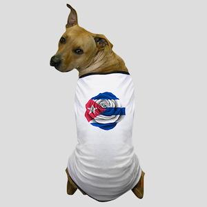 Cuban Rose Flag Dog T-Shirt