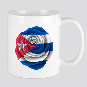 Cuban Rose Flag Mugs