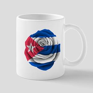 Cuban Rose Flag Mugs