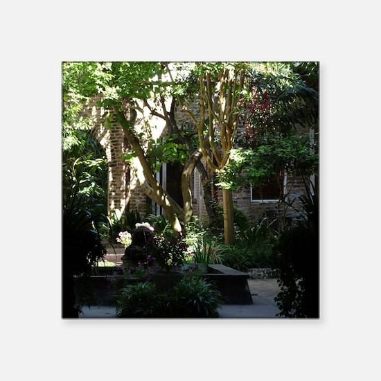 Hidden Courtyard Sticker