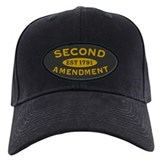 2nd nra second amendment Baseball Cap with Patch