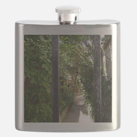 Behind The Gate Flask