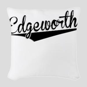 Edgeworth, Retro, Woven Throw Pillow