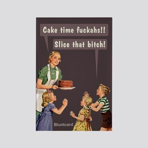 Cake Time, By Bluntcard Magnets