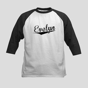 Evelyn, Retro, Baseball Jersey