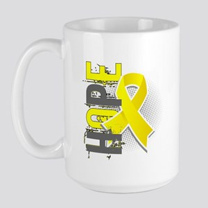 Spina Bifida Hope 2 Large Mug