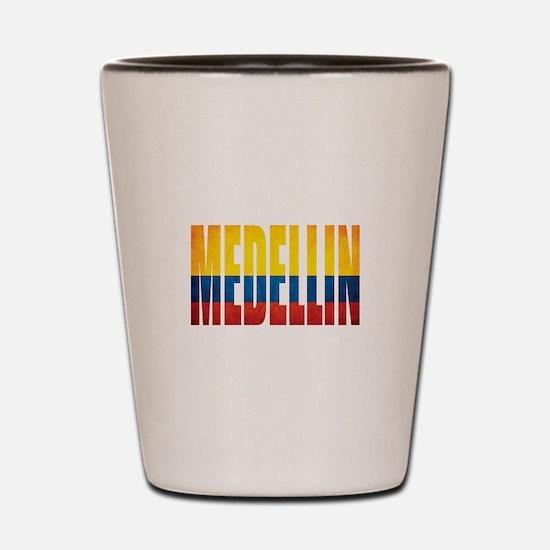 Medellin Shot Glass