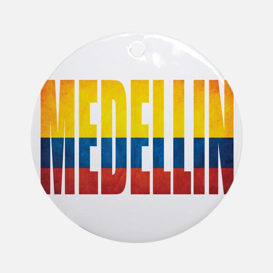 Medellin Round Ornament