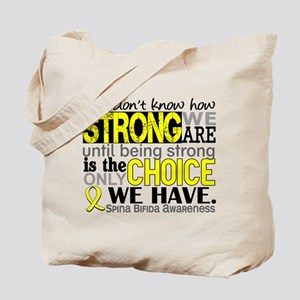 Spina Bifida HowStrongWeAre1 Tote Bag