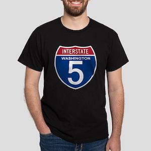 I-5 Washington Dark T-Shirt